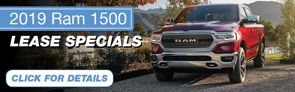 2019 Ram 1500 Lease Special