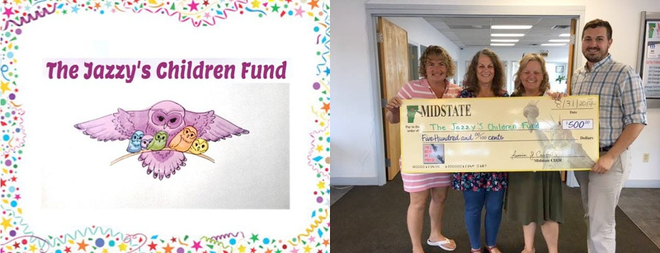 the jazzy's children fund august winner