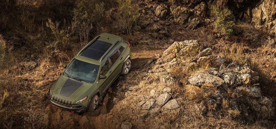 jeep cherokee 4x4 system