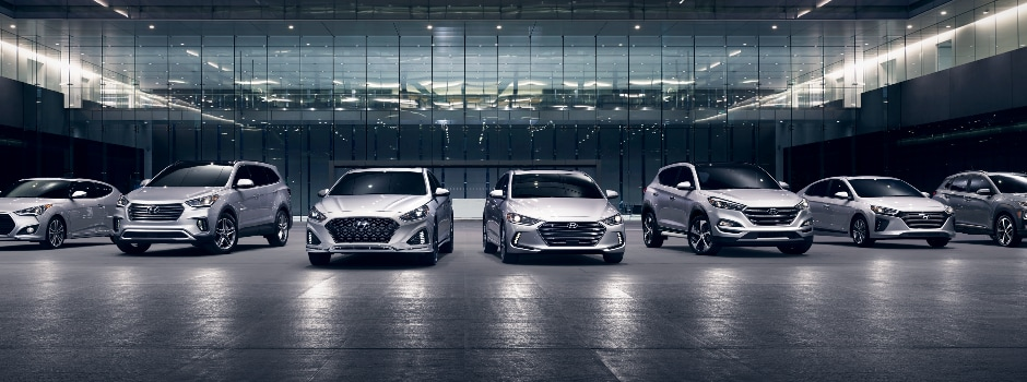 The Hyundai Model Lineup