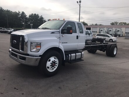2021 Ford F-650-750 F-650 SD Diesel Straight Frame Commercial-truck