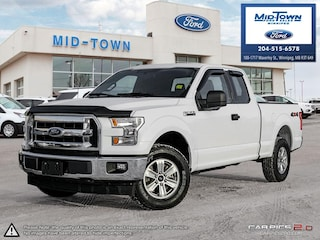 2017 Ford F-150 S/CAB XLT 4X4 Truck SuperCab Styleside