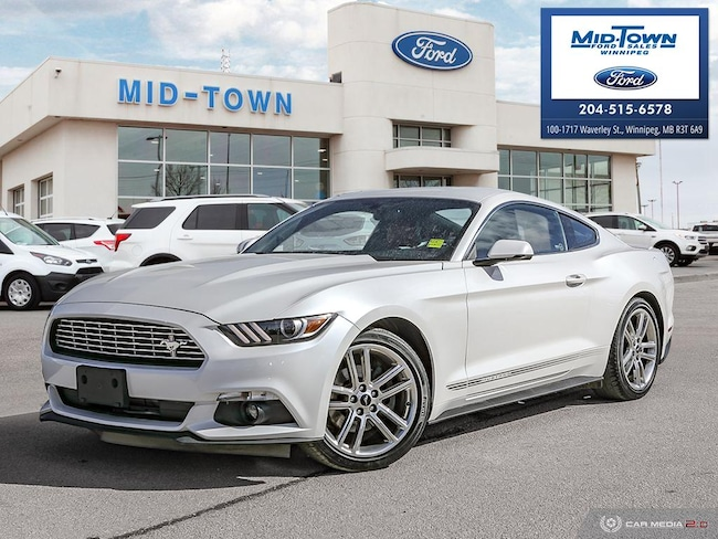 2017 Ford Mustang PREMIUM ECOBOOST PONY PKG Coupe
