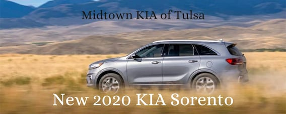 The New 2020 Kia Sorento In Tulsa Ok