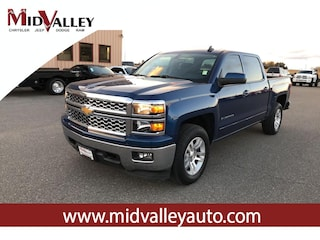 Used 2015 Chevrolet Silverado 1500 LT Truck Crew Cab for sale in Grandview, MA at Mid Valley Chrysler Jeep Dodge