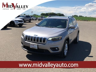 New 2019 Jeep Cherokee LATITUDE 4X4 Sport Utility for sale in Grandview, MA at Mid Valley Chrysler Jeep Dodge