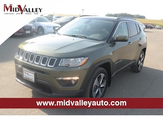 New 2018 Jeep Compass Latitude 4x4 SUV for sale in Grandview, MA at Mid Valley Chrysler Jeep Dodge