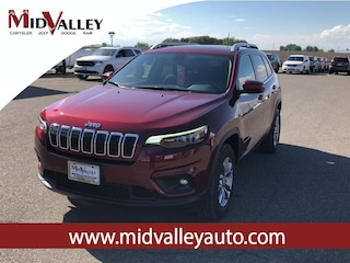 New 2019 Jeep Cherokee LATITUDE PLUS 4X4 Sport Utility for sale in Grandview, MA at Mid Valley Chrysler Jeep Dodge