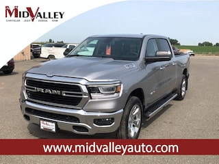 New 2019 Ram 1500 BIG HORN / LONE STAR CREW CAB 4X4 6'4 BOX Crew Cab for sale in Grandview, MA at Mid Valley Chrysler Jeep Dodge