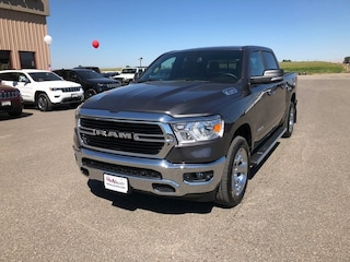 New 2019 Ram 1500 BIG HORN / LONE STAR CREW CAB 4X4 5'7 BOX Crew Cab for sale in Grandview, MA at Mid Valley Chrysler Jeep Dodge