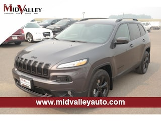 New 2018 Jeep Cherokee LATITUDE 4X4 Sport Utility for sale in Grandview, MA at Mid Valley Chrysler Jeep Dodge