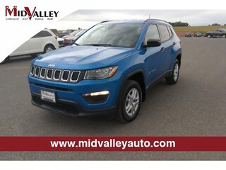 New 2018 Jeep Compass Sport 4x4 SUV for sale in Grandview, MA at Mid Valley Chrysler Jeep Dodge