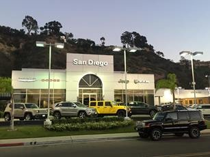 Welcome To San Diego Chrysler Dodge Jeep Ram