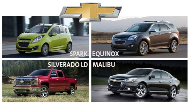 Chevy Models 2015 >> Four Chevy Models Praised In 2015 J D Power Initial Quality