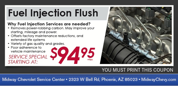 Injection Flush Service Coupon | Service Specials in Phoenix