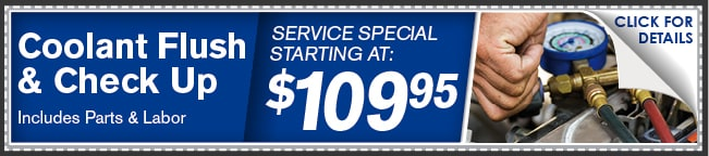 Coolant Flush & Check Up Coupon, Phoenix