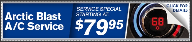 A/C Artic Blast Service Coupon, Phoenix