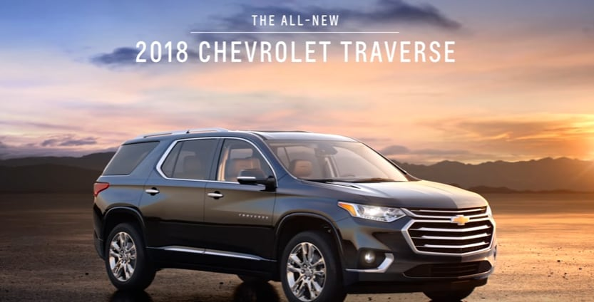 2018 Chevy Traverse