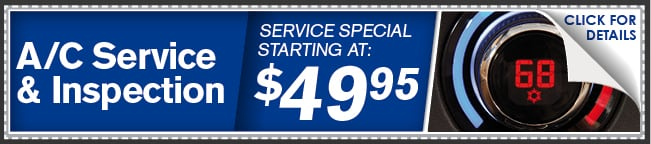 A/C Service & Inspection Coupon, Phoenix