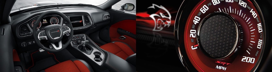 Dodge Performance vehicles interior