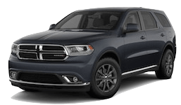 A grey 2019 Dodge Durango