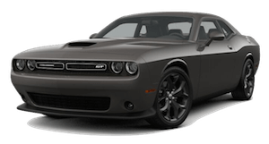 A gray 2019 Dodge Challenger GT