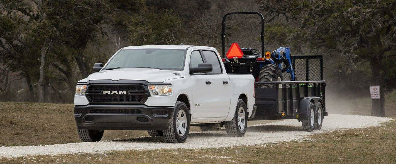 2019 Ram 1500 towing road work