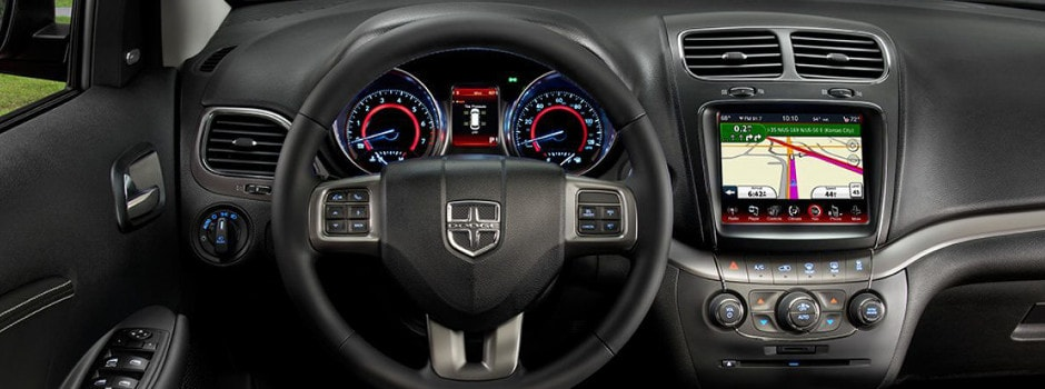 2018 Dodge Journey interior in Chicago, IL