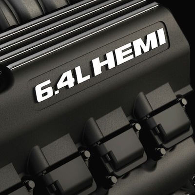 A Dodge Durango 6.4L HEMI V8 Engine