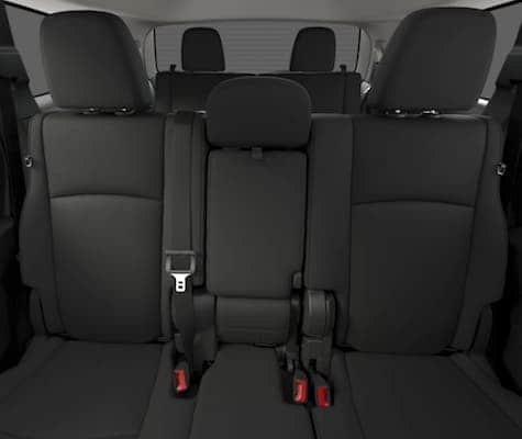 The seating in the Dodge Journey