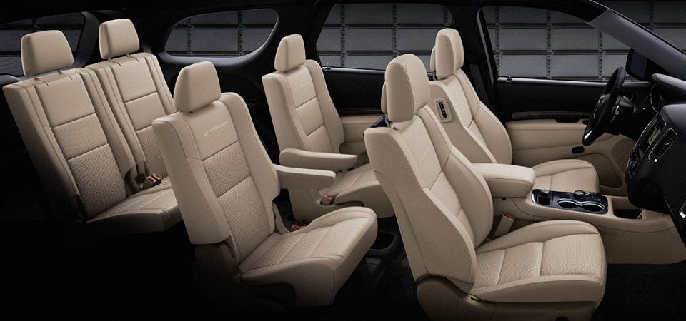2017 Dodge Durango Interior Seating