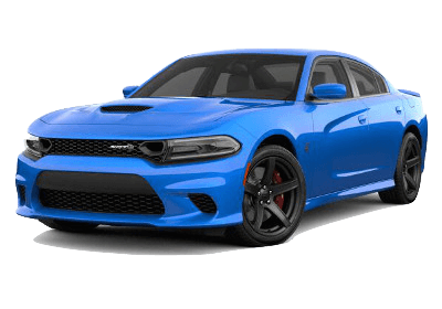 A blue 2019 Dodge Charger
