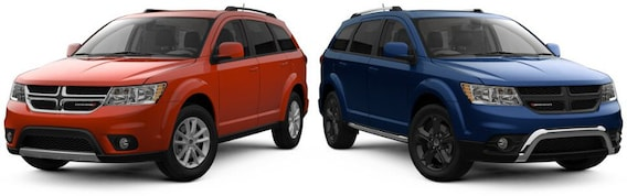 dodge journey gt vs crossroad 1 Dodge Journey SXT vs. Crossroad  Chicago, IL