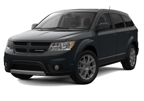 A black Dodge Journey GT