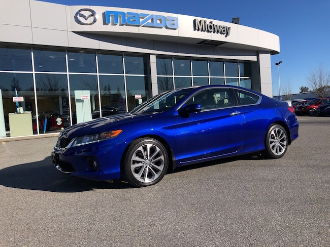 2015 Honda Accord Coupe EX-L V6 AUTO NAV NO ACCIDENTS BC CAR LOW KMS Coupe