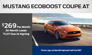 Mustang Ecoboost Coupe