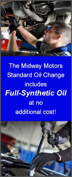 Full Synthetic Oil Change Price >> Full Synthetic Oil Change Diesel Oil Change Midway Motors