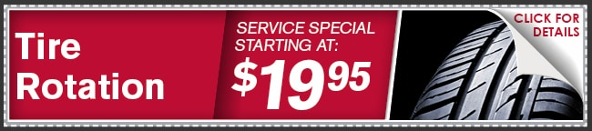 Rotate-Balance Tires Coupon, Phoenix Automotive Service