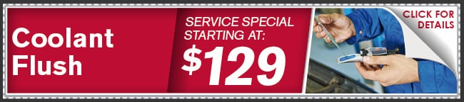 Coolant Fluid Exchange Coupon, Phoenix Automotive Service