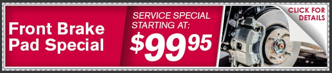 Brake Pad Service Coupon, Phoenix Automotive Service