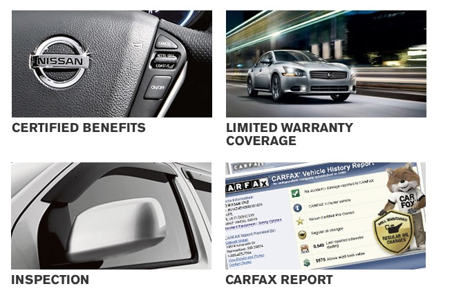 ... Buy Certified Used Cars Like The Maxima Or Juke Will Find That Their  Vehicles Also Come With Genuine Nissan Parts, SiriusXM Satellite Radio  (3 Month ...