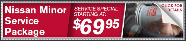 Nissan Minor Service Package, Phoenix Automotive Service
