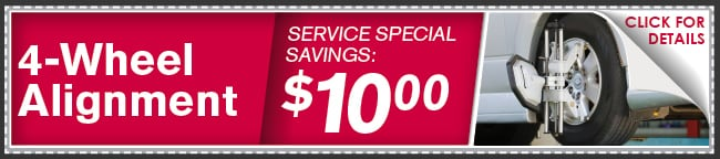 Alignment Check Coupon, Phoenix Automotive Service