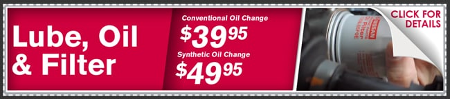 Lube, Oil and Filter Coupon, Phoenix Automotive Service