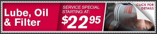 Lube-Oil-Filter Coupon, Phoenix Automotive Service