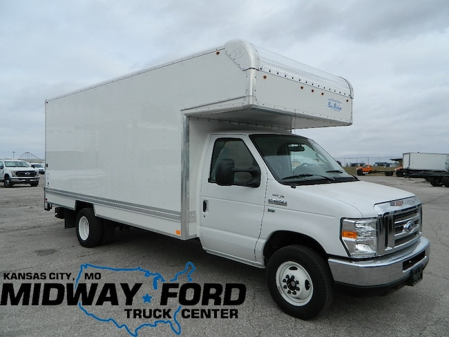 30a51551fe New 2018 Ford E-450 16ft Box Van Commercial Box Van Kansas City