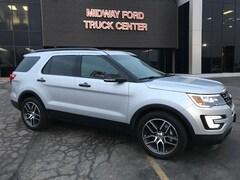 New 2016 Ford Explorer DEMO Sport SUV in Kansas City, MO