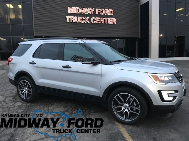 2016 Ford Explorer DEMO Sport SUV