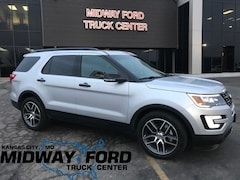 New 2016 Ford Explorer DEMO Sport SUV in Kansas City, MO