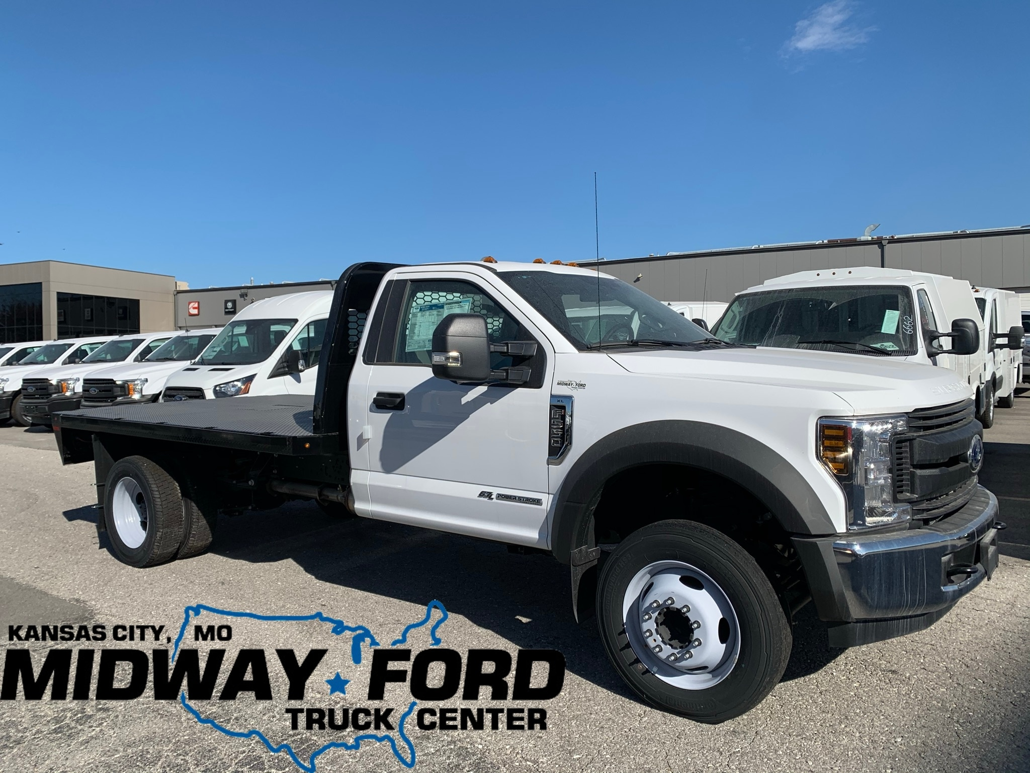 2019 Ford F-550 Flatbed XL Flatbed